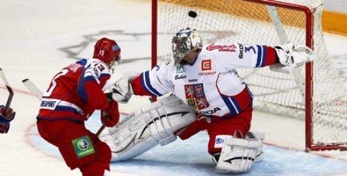 Сборная России и Чехии