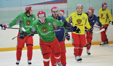 Хоккей: Евротур 2013, сборная России
