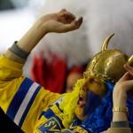 Норвегия — Швеция 1-5. Видео