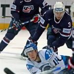 Финляндия — США 2-3 (Б). Видео
