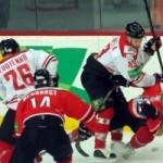 Хоккеисты «Донбасса» провели очередной двусторонний матч