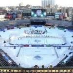 Хоккей на свежем воздухе. 5 матчей собравших наибольшее количество зрителей